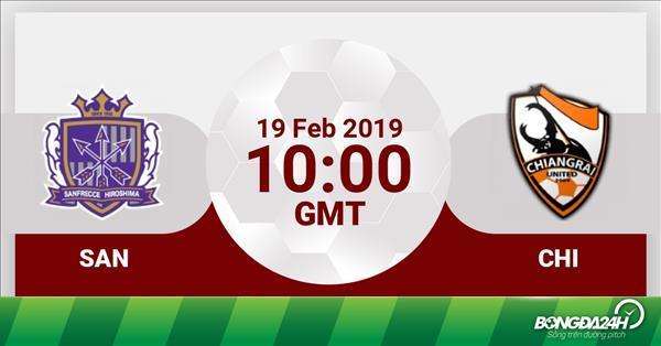 Nhận định Sanfrecce Hiroshima vs Chiangrai 17h00 ngày 19/2 (AFC Champions League 2019)