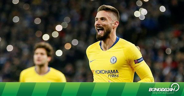 Dynamo Kyjev – Chelsea Facebook: Olivier Giroud Ghi Bàn Liên Tục ở Europa League