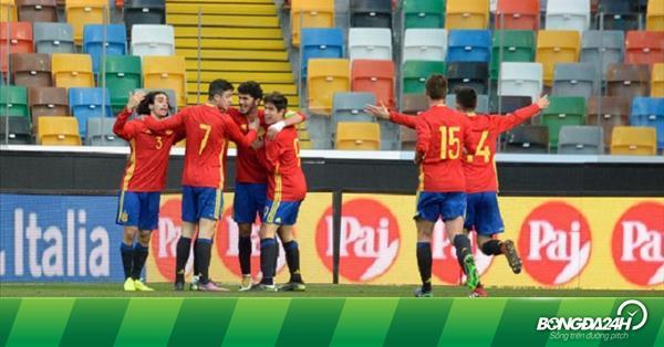 Nhận định U19 Tây Ban Nha vs U19 Slovenia 22h30 ngày 20/3 (Vòng loại U19 Châu Âu 2019)
