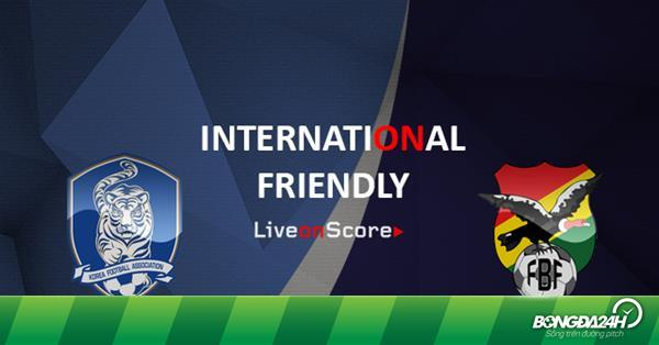 Nhận định Hàn Quốc vs Bolivia 18h00 ngày 22/3 (Giao hữu quốc tế)
