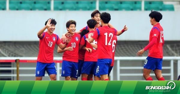 Nhận định U23 Hàn Quốc vs U23 Đài Loan 17h00 ngày 22/3 (Vòng loại U23 châu Á 2020)