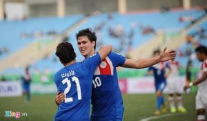 Video bàn thắng: Lào 1-4 Philippines (AFF Cup 2014)