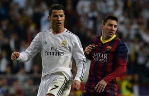 Ronaldo hạ gục Messi nhưng không địch lại Zidane