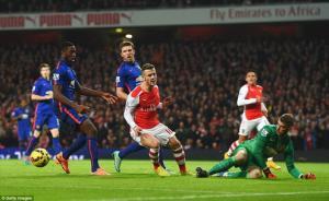 Thủ thành David De Gea đã xuất sắc ra sao trong trận thắng Arsenal