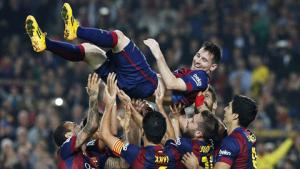 Lionel Messi lập kỷ lục ghi bàn, chủ tịch Barcelona nức nở ngợi khen