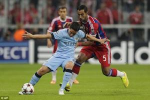 TRỰC TIẾP: Man City 1-1 Bayern Munich (Hiệp một): Alonso sút phạt đẳng cấp quân bình tỷ số cho Hùm xám