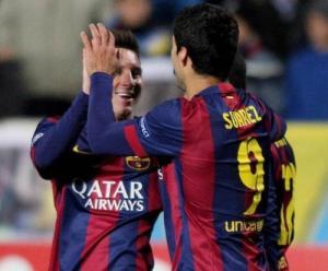 Barca: Messi thăng hoa là nhờ Suarez?