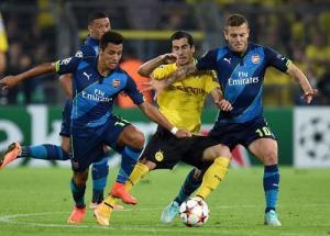 Trực tiếp: Arsenal 1-0 Dortmund (Hiệp một): Sanogo mở tỷ số cho Pháo thủ