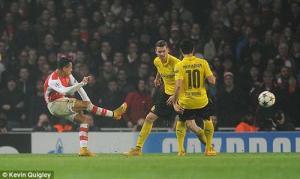 Arsenal thắng Dortmund : Sau cơn mưa trời lại sáng