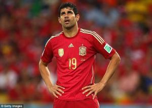 HLV Del Bosque bất ngờ chỉ trích Diego Costa không thương tiếc