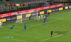 Video bàn thắng: Inter 2-1 Dnipro (Vòng bảng Europa League 2014/2015)