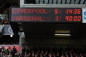 Thảm bại 1-5 trước Liverpool vẫn ám ảnh Arsene Wenger đến bây giờ