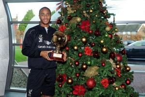 """Sao trẻ Liverpool giành giải """"Cậu bé vàng"""" của năm 2014"""