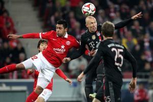 Video bàn thắng: Mainz 1-2 Bayern Munich (Vòng 17 Bundesliga)