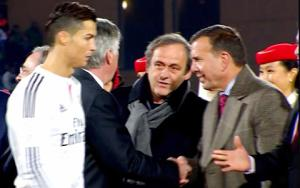 UEFA lên tiếng minh oan cho Ronaldo vụ không bắt tay Platini