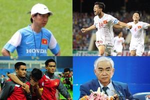10 sự kiện bóng đá Việt Nam tiêu biểu trong năm 2014