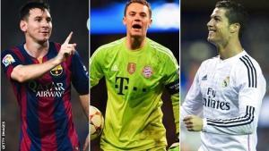 Điểm mặt top 20 cầu thủ xuất sắc nhất năm 2014