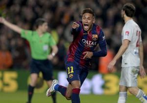 Neymar muốn làm nên lịch sử tại Barca