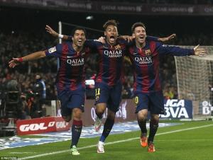 Barcelona sẽ ăn ba mùa giải này