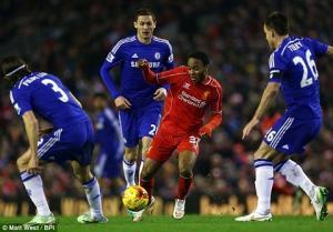 Trực tiếp: Chelsea 0-0 Liverpool (Hiệp hai): Fabregas rời sân vì chấn thương