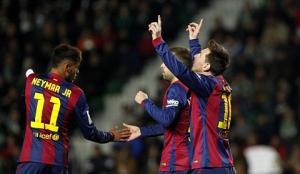 Những điểm nhấn đáng chú ý sau trận thắng đậm của Barca trước Elche