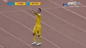 Video bàn thắng: Thanh Hóa 2-1 Hà Nội T&T (Vòng 5 V-League 2015)