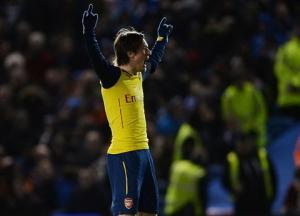 Video bàn thắng: Brighton & Hove Albion 2-3 Arsenal (Vòng 4 Cúp FA 2014/2015)