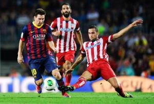 TRỰC TIẾP: Atletico Madrid 1-0 Barcelona (Hiệp 1): Torres mở điểm cho chủ nhà ngay từ phút đầu tiên