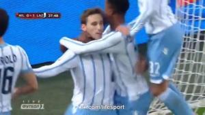 Video bàn thắng: AC Milan 0-1 Lazio (Cúp quốc gia Italia)