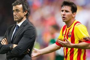 Sao Barcelona xác nhận Messi to tiếng với HLV Enrique trong tập luyện