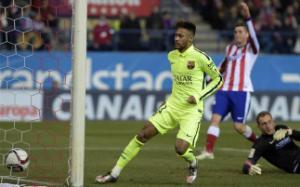Neymar trên đường phế truất kỷ lục ghi bàn của Báo đen Samuel Eto'o