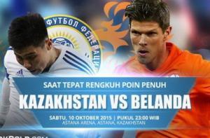 TRỰC TIẾP VÒNG LOẠI EURO 2016: Trận đấu Kazakhstan vs Hà Lan 23h00 ngày 10/10