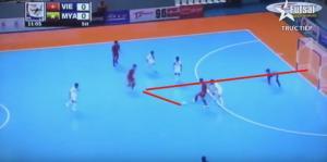 Vũ Neymar tỏa sáng, Futsal Việt Nam thắng kịch tính Myanmar