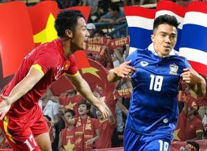 19H00 TRỰC TIẾP Việt Nam vs Thái Lan: Chủ nhà đá 5 hậu vệ, Văn Quyết sát cánh Hồng Quân, Công Vinh