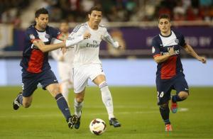 Video clip ngôi sao Ronaldo thi đấu xuất sắc ở trận PSG vs Real Madrid