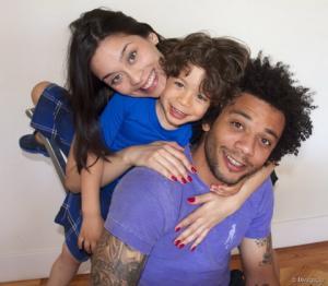 Hậu vệ Marcelo của Real chung tình và gia đình hạnh phúc