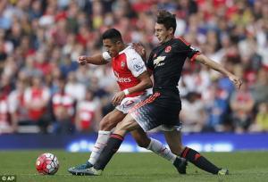 Màn trình diễn thảm họa của hậu vệ Damian ở trận Arsenal 3-0 M.U