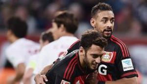 Video clip bàn thắng: Bayer Leverkusen 1-1 Augsburg (Vòng 8 Bundesliga 2015/16)