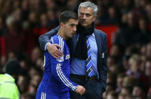 Hazard nhắn tin xin lỗi HLV Mourinho