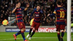 VIDEO: Tam tấu MNS phối hợp ghi bàn đẹp mắt vào lưới AS Roma