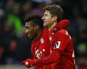 Sao trẻ Bayern tỏa sáng, Wenger lại tiếc đứt ruột