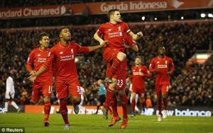 Video clip bàn thắng: Liverpool 1-0 Swansea City (Vòng 14 Premier League 2015/16)