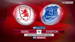 Video clip bàn thắng: Middlesbrough 0-2 Everton (Tứ kết Cúp Liên đoàn Anh 2015/2016)