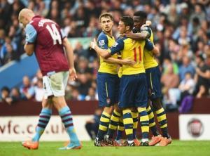 TRỰC TIẾP: Arsenal vs Aston Villa 20h30 ngày 1/2 vòng 23 Ngoại hạng Anh