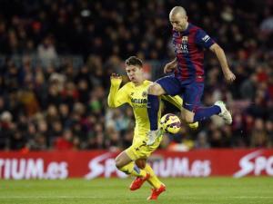 TRỰC TIẾP: Barcelona 1-2 Villarreal (Hiệp 1): Khách lại bất ngờ vươn lên