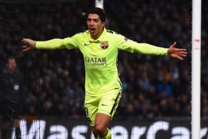 Suarez lọt vào top 5 bàn thắng đẹp nhất lượt đi vòng 1/8 Champions League
