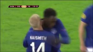 Video bàn thắng: Everton 3-1 (7-2) Young Boys (Vòng 1/16 Europa League 2014/15)
