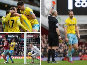 Video bàn thắng: West Ham 1-3 Crystal Palace (Vòng 27 Premiere League 2014/15)