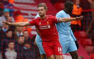 Jordan Henderson sung sướng khi Liverpool  đánh bại Man City