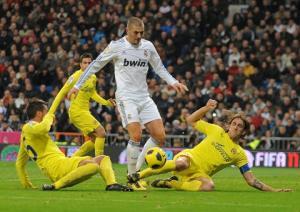 TRỰC TIẾP: Real Madrid vs Villarreal 3h ngày 2/3 vòng 25 La Liga 2014-2015